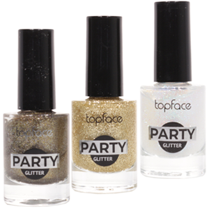 Лак для ногтей TopFace №PT106 Party Glitter 9мл